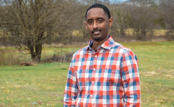 Patient Miraf Assefa gets lifesaving treatment after being shot twice