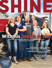 Cover of the summer edition of Methodist Shine magazine