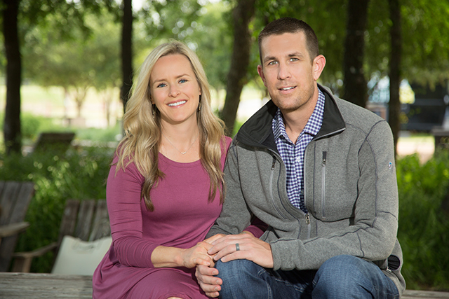 Kacey's wife, Darla, was by his side during his diagnosis and treatment for testicular cancer at Methodist Dallas.