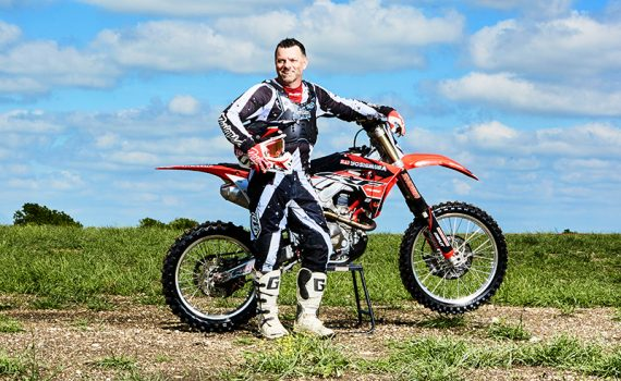 Jeff Willoughby's crash on his bike during a motocross run sent him for treatment at Methodist Mansfield.
