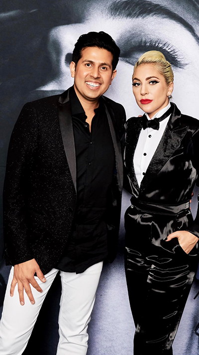 Mikey Vann and Lady Gaga after LINX surgery helps his acid reflux.