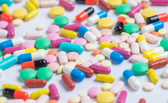 Pile of pills; learn about safety for your medications.