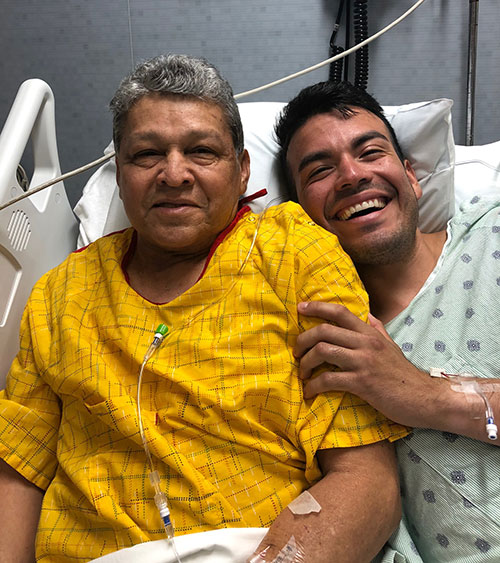 Man is grateful after receiving lifesaving kidney donation