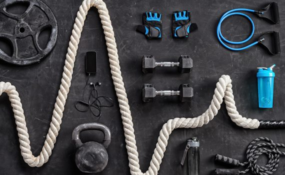 Exercise equipment for building a home gym