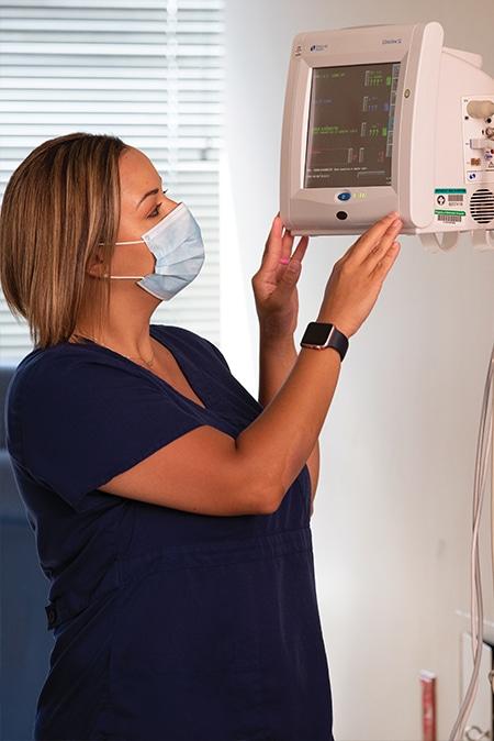 Jennifer Allen, BSN, RN, nurse manager in the ICU at Methodist Charlton