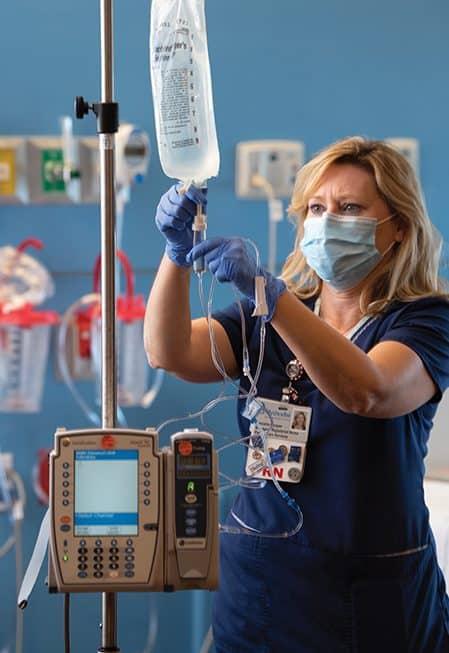 Danielle Cooper, BSN, RN, PCCN, nurse manager at Methodist Richardson