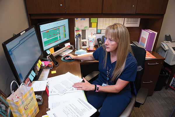 Katherine Hartdegen, BSN, BS, RN, CPN, manager of Infection Prevention and Control at Methodist Richardson Medical Center