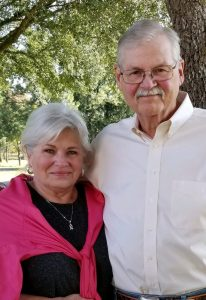 Chuck and Kathy Magers after Chuck's pancreatitis and pancreatic surgery