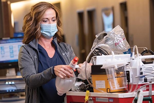 Shannon Jackson, MSN, RN-BC, ICU nurse at Methodist Richardson Medical Center