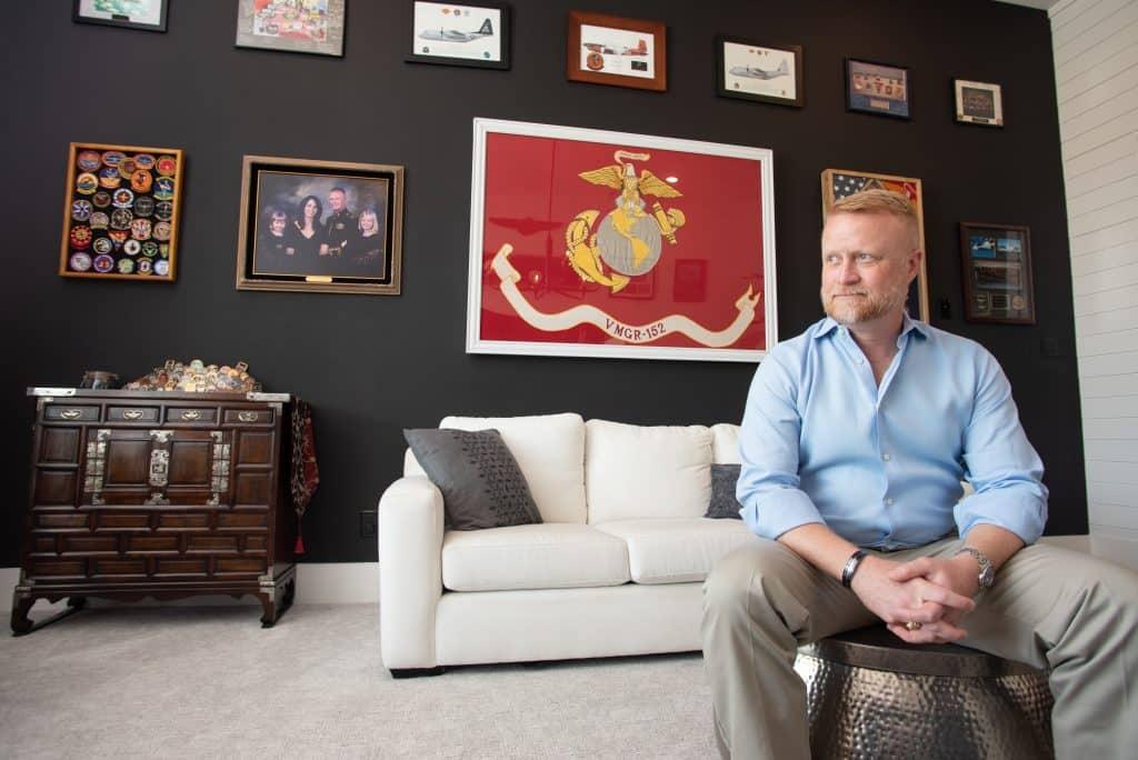 Marine pilot Colonel Jason Julian
